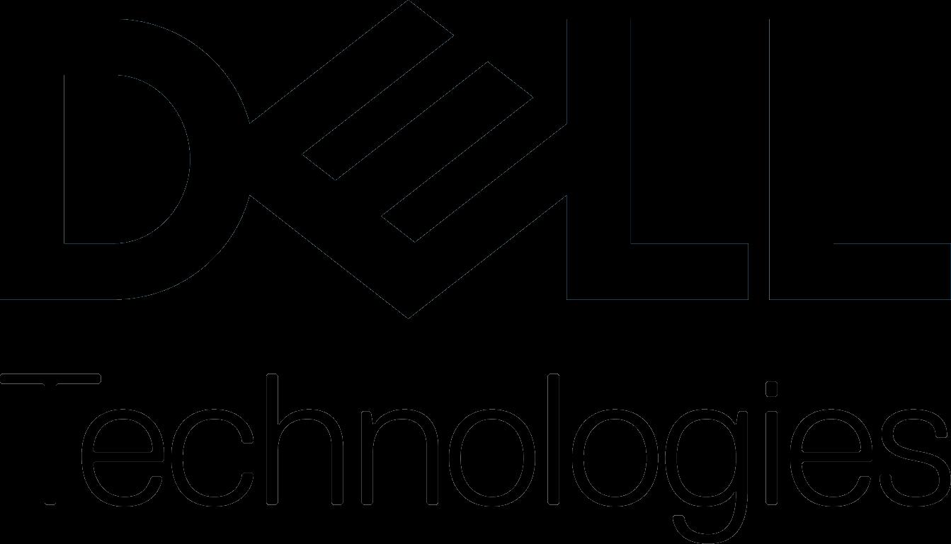 Dell Technologies logo black