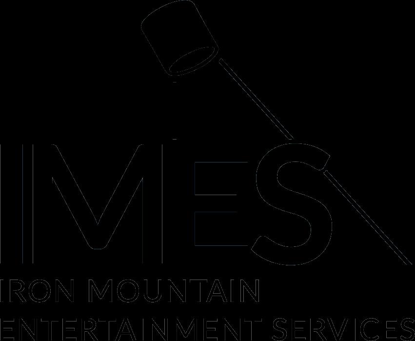 Iron Mountain logo black