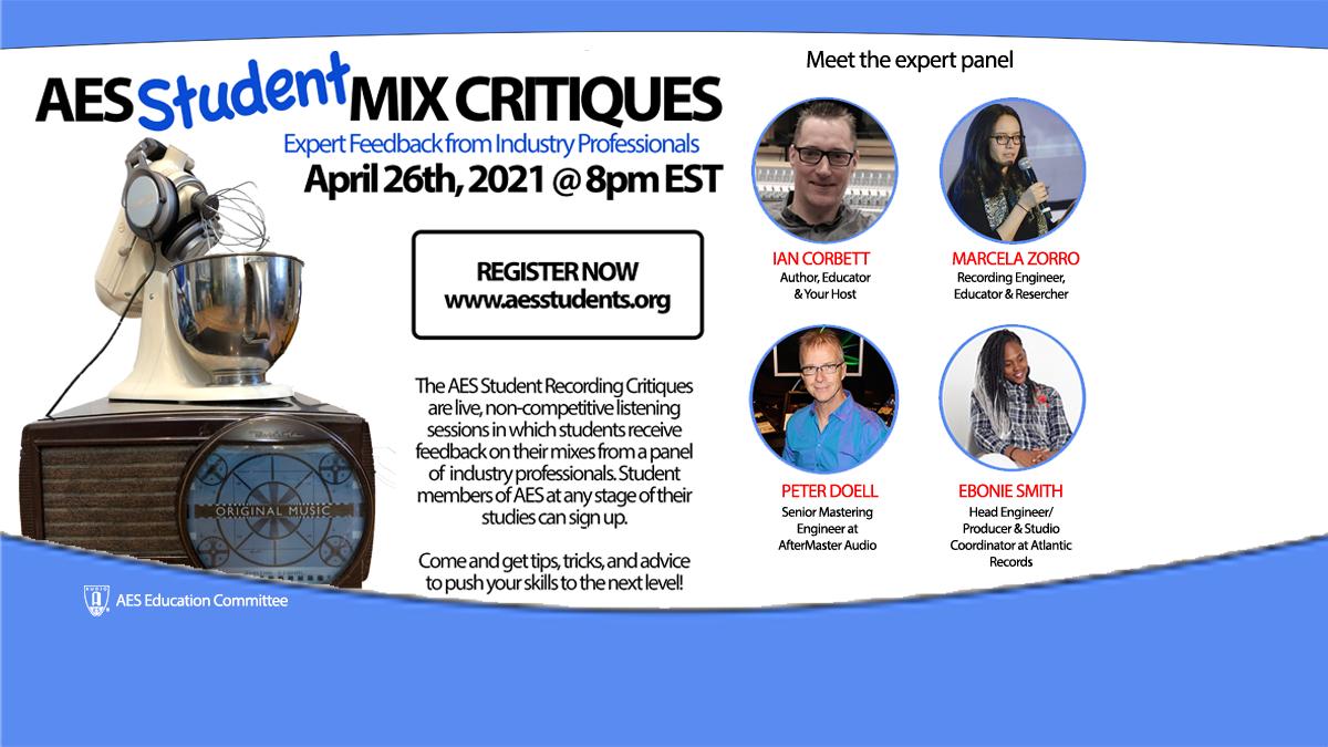 Student Mix Critiques April 26