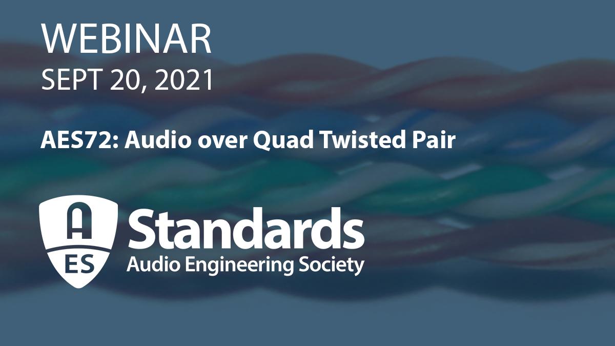 Standards AES72 Webinar