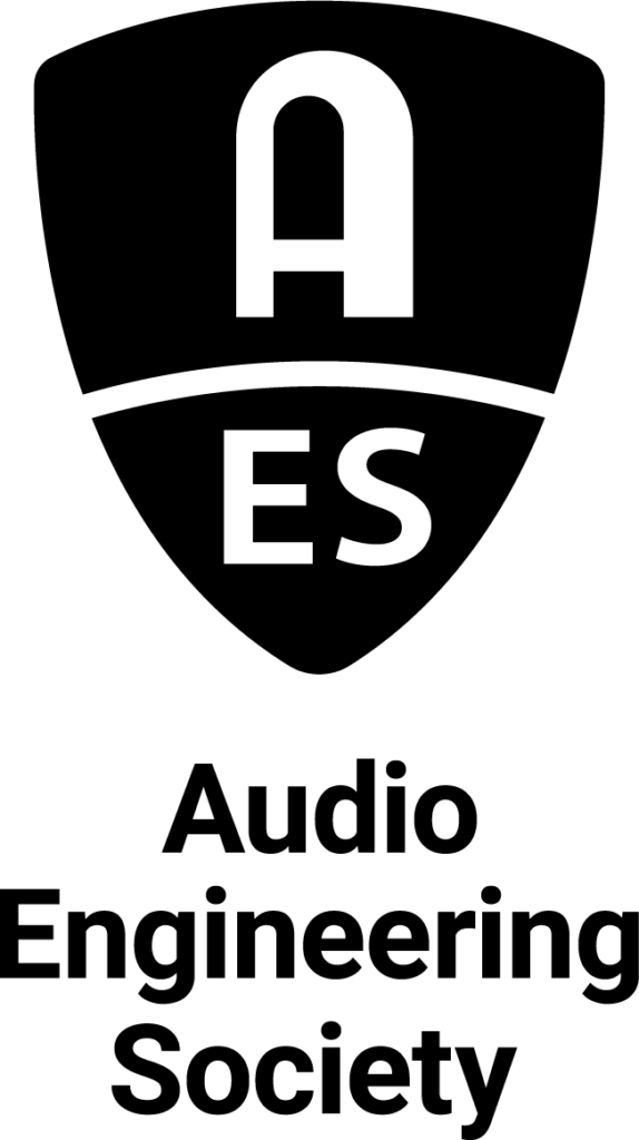 AES Logo Stack Black