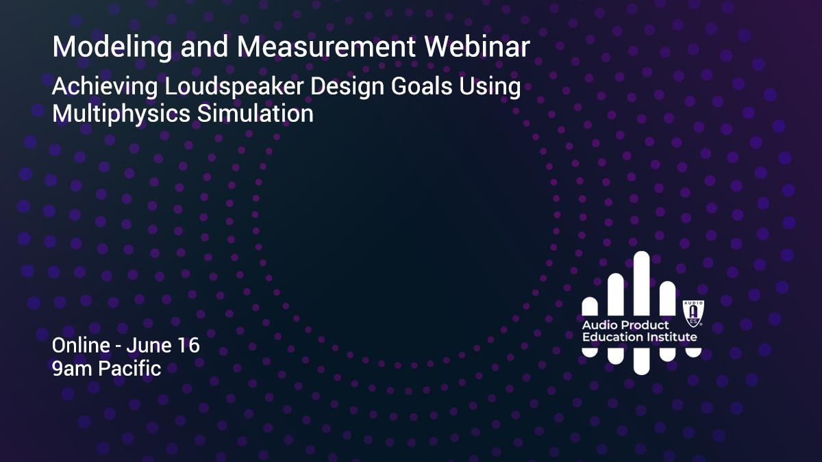 APEI Modeling and Measurement Webinar June 16
