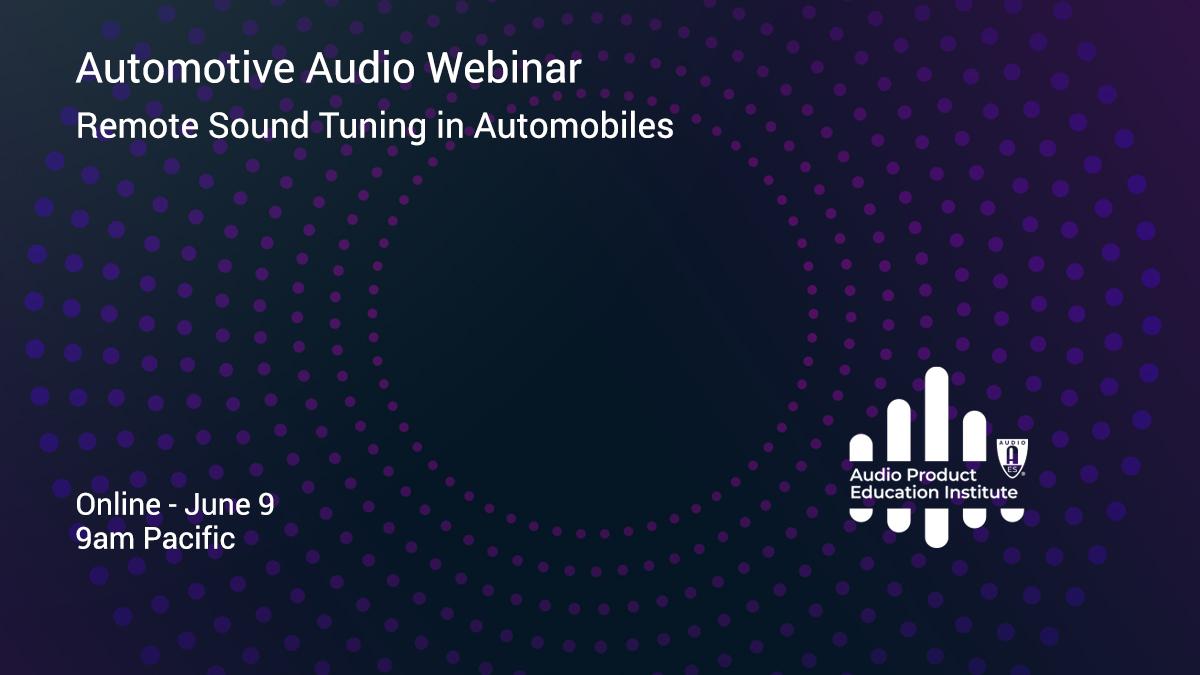 Remote Sound Tuning in Automobiles