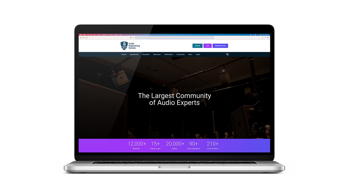 AES New Website